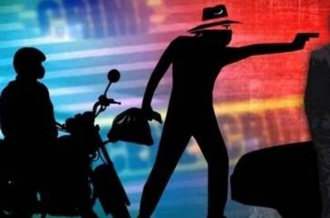 amritsar criminals loot petrolpump