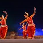 Dance drama in Odissi Ripu Parinama being staged at Konark Festival at Konark on Tuesday. Photograph: Odishabytes