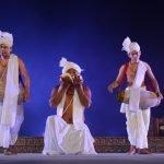 Bimbabati Devi and her group from Manipur perform at Konark Festival at Konark