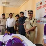 CP & Indian Red Cross society arrange special blood donation camp drive
