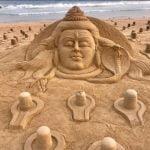 mahashivratri puri sand art sundarshan patnaik