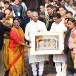 Hon`ble President of India, Shri Ramnath Kovind visits Jagannath Temple at Puri