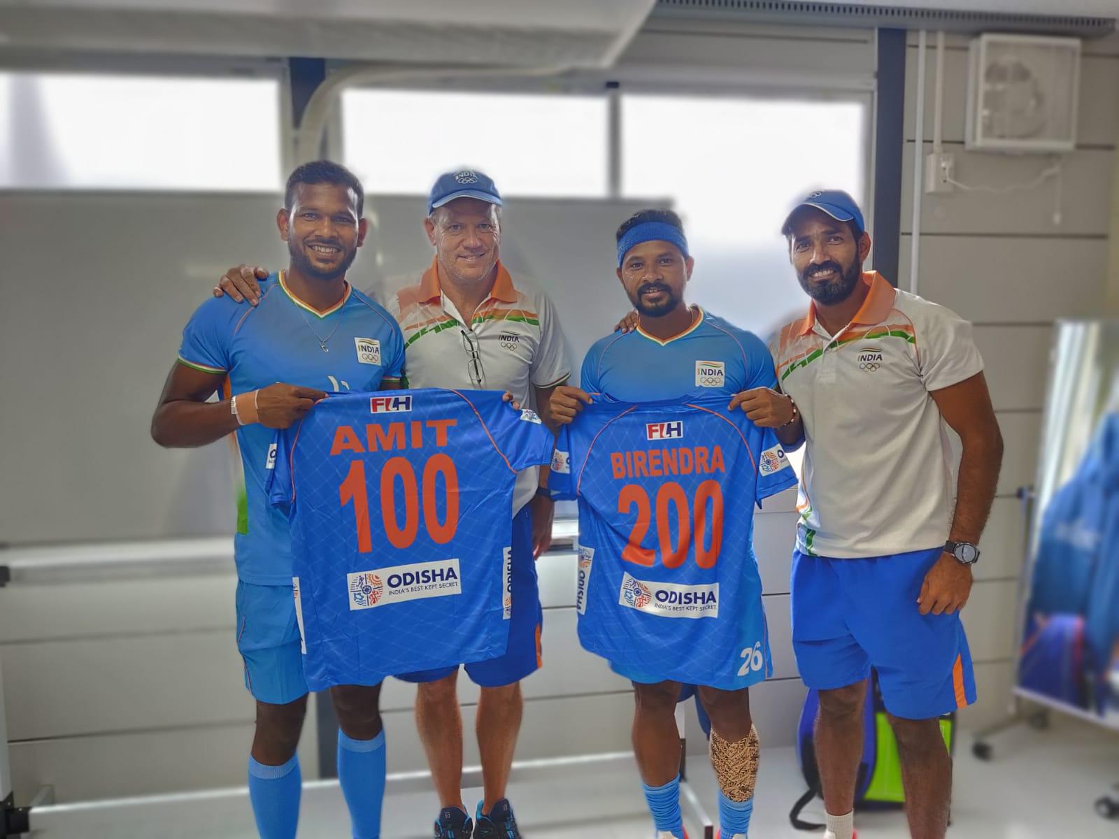Odisha Hockey Stars Birendra Lakra & Amit Rohidas Achieve Unique Milestones  – Odisha Bytes